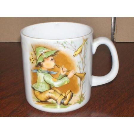 Vintage? Porcelain childs mug~Peter Piper?