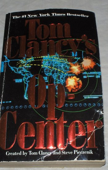 Op-Center by Tom Clancy 1995 used paperback