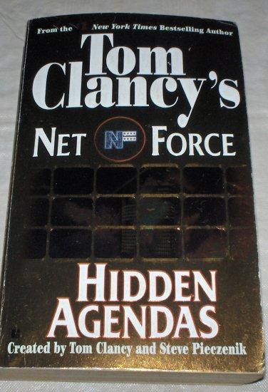 Hidden Agendas by Tom Clancy (1999) used PB
