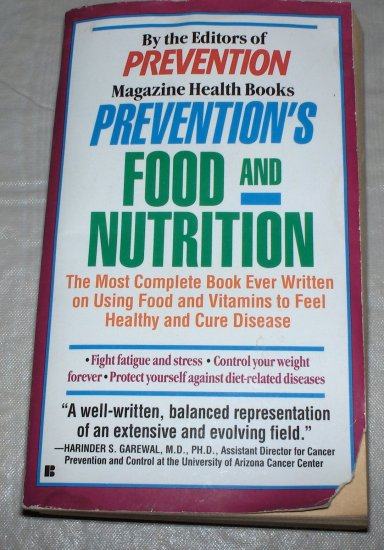 Prevention's Food and Nutrition (Softcover) 1993