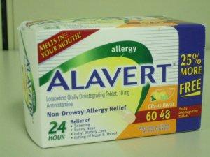 ALAVERT 24 Hour Non-Drowsy Allergy Relief - 60 Orally Disintegrating Tablets Citrus Burst