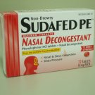 Sudafed PE Maxium Strength Nasal Decongestant - 72 tablets