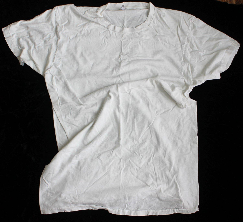 Hanes Men's Used XL Long T-Shirt Undershirt 46-48