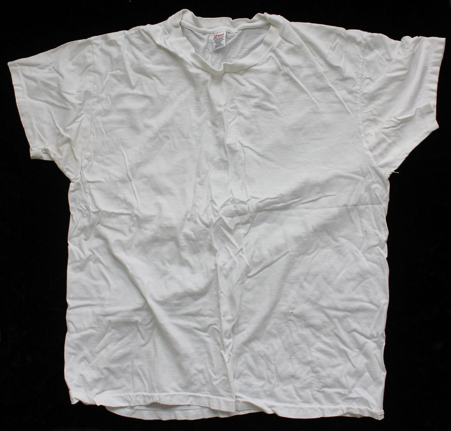 Hanes Men's Used Special Edition XL T-Shirt Undershirt 46-48