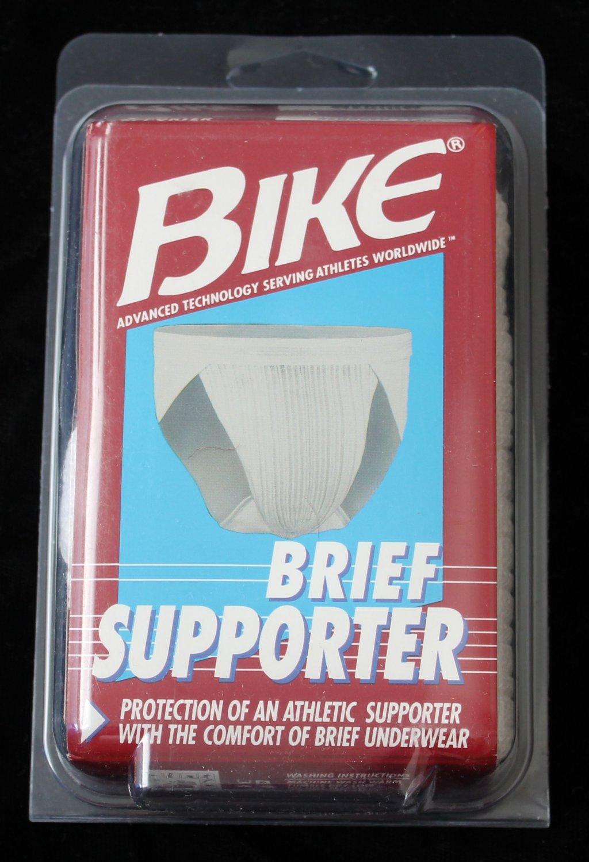 Bike Men's New in Package White Jocks  Medium 32-34 USA