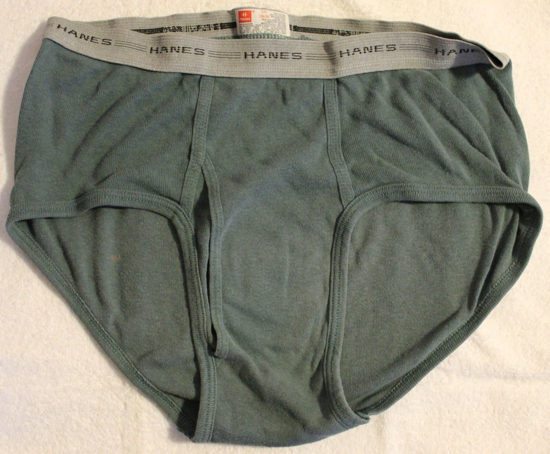 Hanes Men's 1 Pair MensLow-rise Underwear Briefs Large 36-38 USA