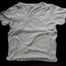 Hanes 3ea Men's Used CLASSICS T-Shirts Undershirt V-Neck L 42-44