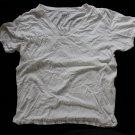 Hanes 3ea Men's Used CLASSICS T-Shirts Undershirt V-Neck L 42-44