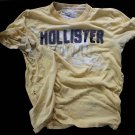 Hollister 1ea Men's Used Hawaii T-Shirt Undershirt  Medium Stained Thrashed