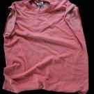 HXR 1ea Men's Used T-Shirt Undershirt  Medium Sleeveless, Frayed