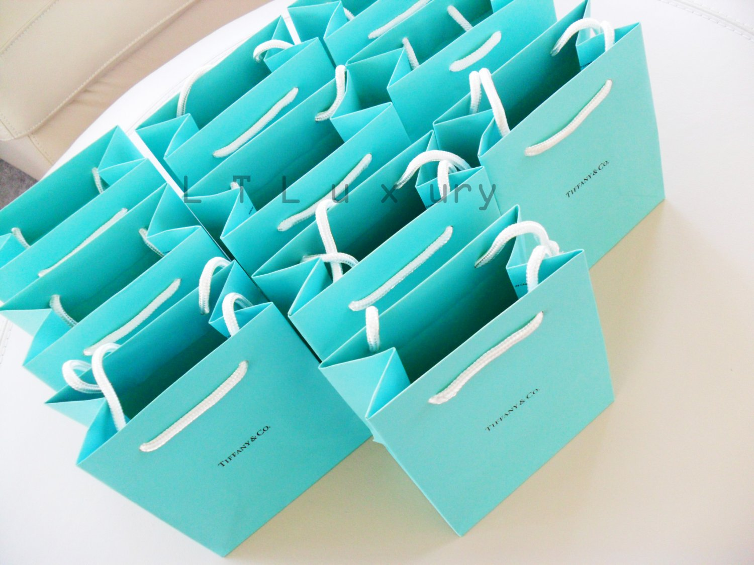84aaec16ed9 ONE (1) Tiffany & Co. MEDIUM gift bag BRAND NEW Perfect Gift bag for Tiffany  themed parties!