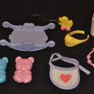 My Little Pony G1 Baby Accessories Lot
