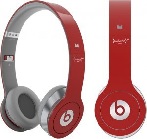 Beats red Solo HD - Free Shipping to UK/US/AU - Best price on the net!!!