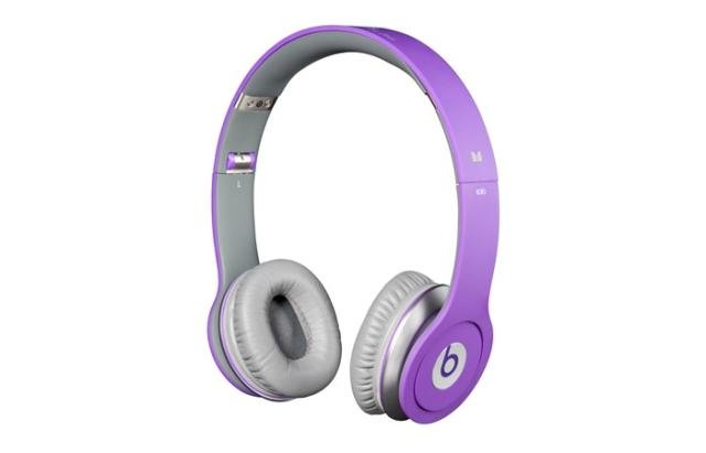 Beats Purple Solo HD - Free Shipping to UK/US/AU - Best price on the net!!!