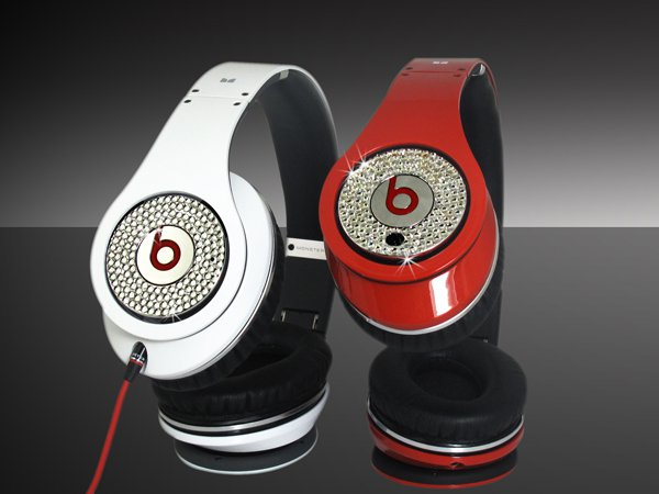 Beats by Dre Monster Diamond (Red) High Definion Powered Isolation Headphones
