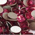 200 Indian Pink Rhinestones