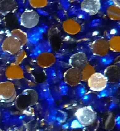200 Royal Blue Rhinestones