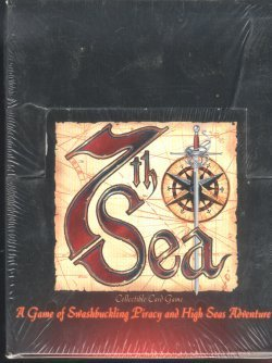 7th Sea Scarlet Seas Starter Box