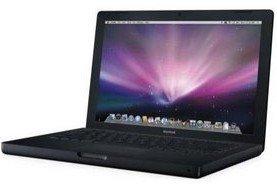 MacBook 13, Black, 2.0GHz, 2GB, 120GB, Snow Leopard, New-Battery (2.0 GHz)