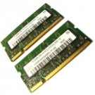 1GB MacBook 13, (PC2-5300 555-12 DDR2-667) (2)(512MB) RAM Memory