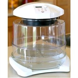 Morningware Convection & Infrared Halo Oven With a ring