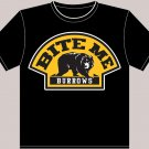 "XX-Large Black ""Bite Me Burrows"" Boston Bruins T-shirt"