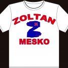 X-Large White Zoltan Mesko New England Patriots T-shirt