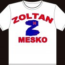 Medium White Zoltan Mesko New England Patriots T-shirt