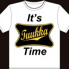 "Medium - White - Tuukka Rask ""It's Tuukka Time"" T-shirt Boston Bruins"