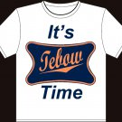 "Large - White - Tim ""Tebow Time - Jesus 15"" Denver Broncos T-shirt"
