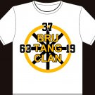 "Small - White - Brad Marchand ""Bru-Tang Clan"" T-shirt Boston Bruins"
