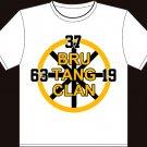 "XXL - White - Brad Marchand ""Bru-Tang Clan"" T-shirt Boston Bruins"