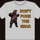 "Small - Sport Gray - ""Don't Poke The Bear"" Boston Bruins T-shirt"