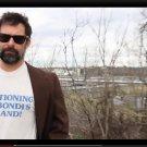 "Small - White - ""Vacationing on Bondi's Island"" Dr. Westchesterson 413"