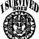 "Medium - White - ""I Survived 2012 - Legends of the Hidden Temple"" T-shirt"