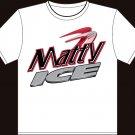 "XXL - White - ""Matty Ice"" T-shirt - Matt Ryan Atlanta Falcons"