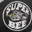 Collector's Leather Painting Of Super Bee Emblem  Item 161