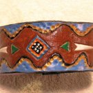 Collector's Leather Native American Bracelet Item 183