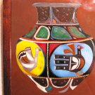 Collector's Leather Vase Painting of cultural period art #130