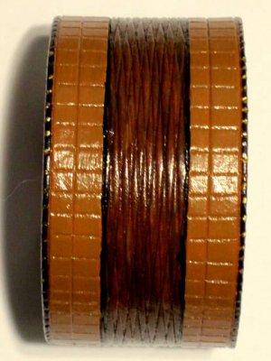 Collector's Dancing Diamond/Rectangle Leather Bracelet #209