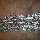 Handmade Raiders fleece scarf
