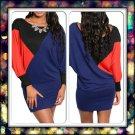 Block color Dress ( small )