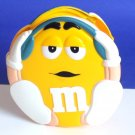 M&M yellow DVD holder