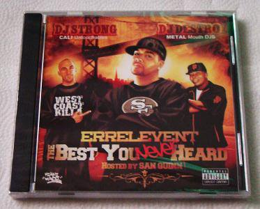 San Quinn presents Errelevent - The Best You NEVER Heard (CD) [NEW]