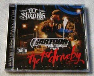 Kartoon - The 1st Driveby (CD) [NEW] 40 Glocc, Turf Talk