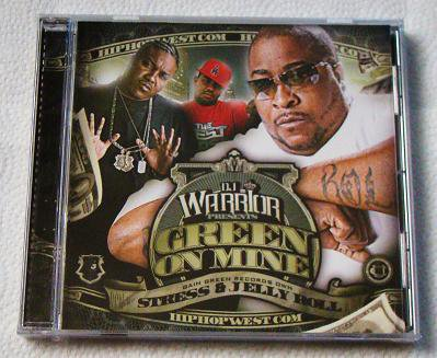 Stress & Jelly Roll - Green on Mine (CD) [NEW] E-40, Bonecrusher, Krondon, Bushwick Bill, Cee-Lo
