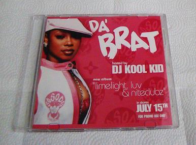 Best of Da Brat - Limited Edition Mix (CD) Mystikal, Lil Jon, TLC