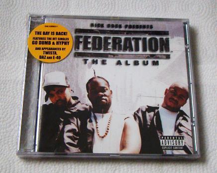 Federation - The Album (CD) [NEW] Daz Dillinger, Twista, E-40