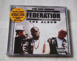 Federation - The Album (CD) [NEW] Daz Dillinger, Twista, E-40