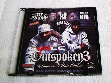 40 Glocc - Outspoken 3 (CD) G-Unit West - Spider Loc, Jayo Felony